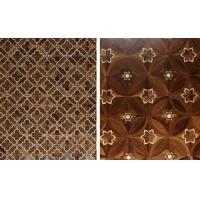 艺术拼花木地板,背景墙适用亚花梨