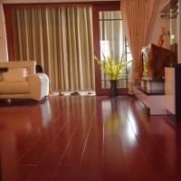 E0净醛环保实木复合地板沙比利多层实木地板定做