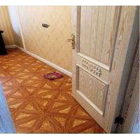 木镶玉石拼花木地板,曲线拼花木地板