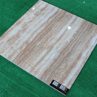 800黄裂石纹仿玉石全抛釉瓷砖佛山陶瓷釉面地板砖