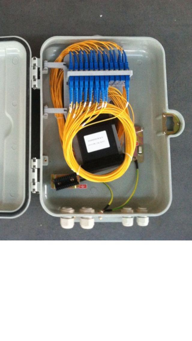 12芯16芯32芯SMC室内外壁挂抱杆光缆分纤箱
