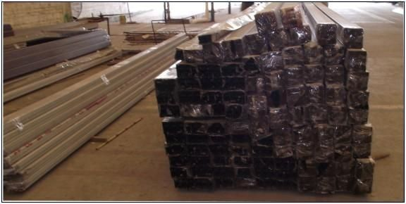 led显示屏 边框 铝型材产品图片