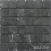 鱼之乐-黑白根-49哑面-石材马赛克
