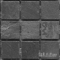 鱼之乐-黑板岩-49哑面-石材马赛克