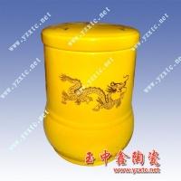 清香陶瓷茶叶罐,色釉茶叶罐