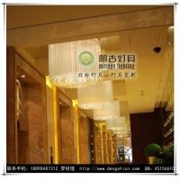 过道水晶吊灯,酒店水晶吊灯,会所水晶吊灯,餐厅大堂吊灯
