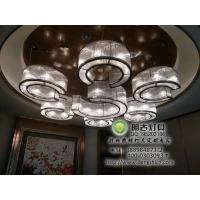 酒店梅花玻璃棒工程灯具