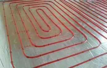KROWE克罗顿维尔地暖管连接方式 地暖管施工方案 地暖护管