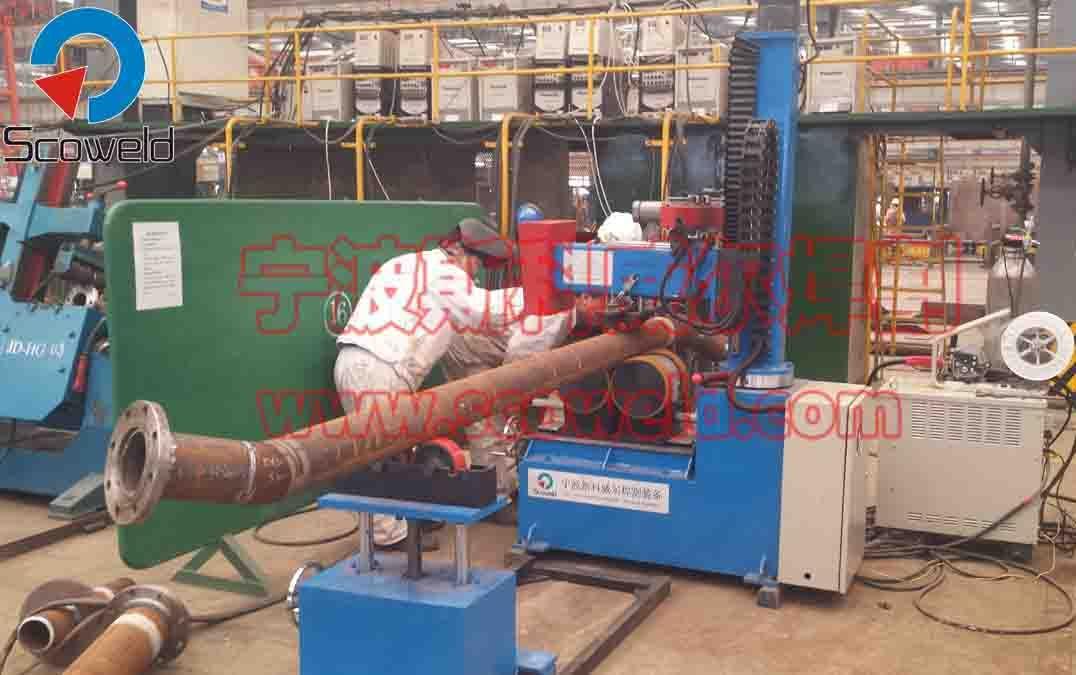 管道自动打底填充盖面一体机 不锈钢管道自动焊机