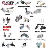 AIGNEP安耐氣動元器件轉接頭、功能接頭、手動閥