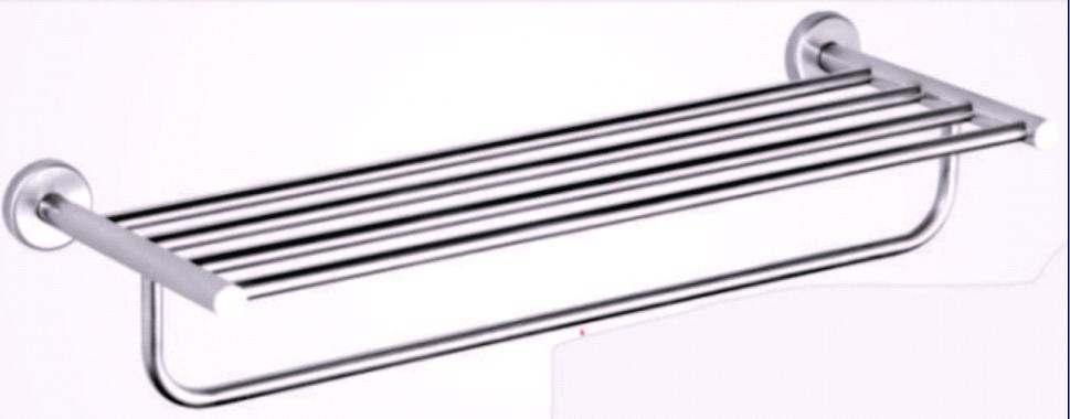 单层单杆浴巾架(Handtuchhalter/Porte-s