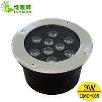 供应LED地埋灯 埋地灯 圆形地埋灯 9W LED地埋灯 带
