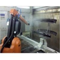 汽车配件自动喷涂机器人