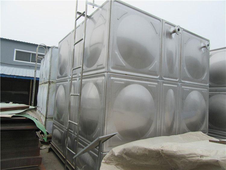 山东专业定制不锈钢装配式焊接水箱 不锈钢组合式水箱