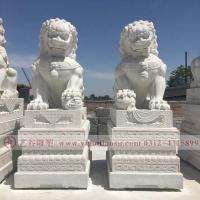 石雕天安门狮子
