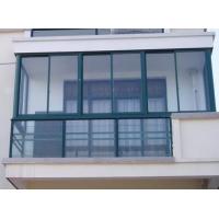 合肥断桥铝封阳台阳光房夹胶钢化玻璃门窗