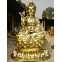 威宇经典铜装饰古建筑寺庙工程-滴水观音1