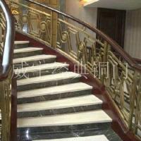 威宇经典铜装饰铜扶梯系列铜扶梯