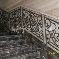 威宇經典銅裝飾銅扶梯系列鑄造扶手