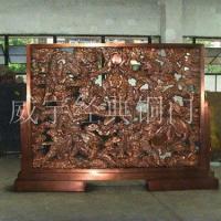 威宇經典銅裝飾銅屏風系列01