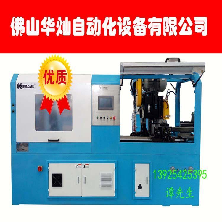数控350CNC伺服全自动圆锯机 全自动切管机 液压油动切割