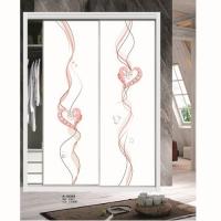 鑫嘉泰门窗-衣柜门艺术玻璃移门系列A-18359