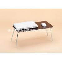 来样定制 笔记本电脑桌 铝合金 仿木纹效果 表面加工处理
