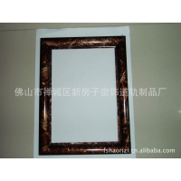 来料加工 各种材质 广告框架 仿木纹/大理石纹 表面处理