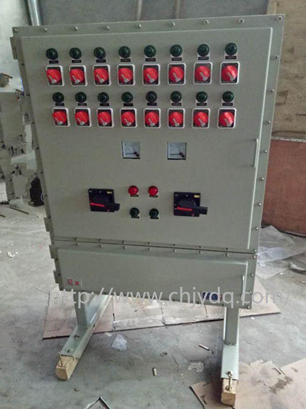 敬迎BXK立式钢板焊接防爆控制箱 防爆控制柜