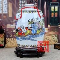 10斤陶瓷酒坛,20斤青花酒坛子,50斤大酒缸