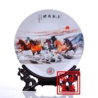 陶瓷装饰瓷片瓷盘,陶瓷摆设圆盘看盘