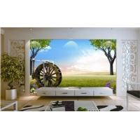 电视背景墙 钢化玻璃电视背景墙 艺术玻璃电视背景墙
