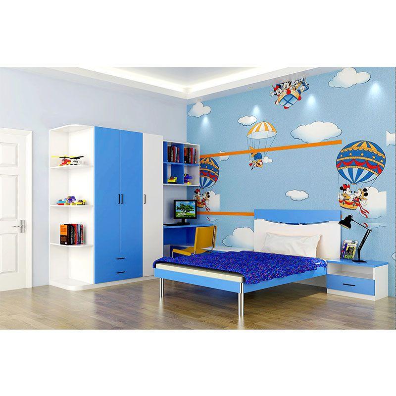 亿尚家居缤纷世界系列定制儿童房衣柜床头柜书桌