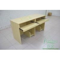 科桌翻转电脑桌 双人翻转式电脑桌 无边框翻转桌