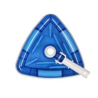 游泳池清洁保养工具 游泳池吸污头 水下吸尘器 三角形吸池头