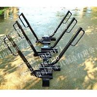 公共场所车架  便民自行车架  可订做单车架  金属车架