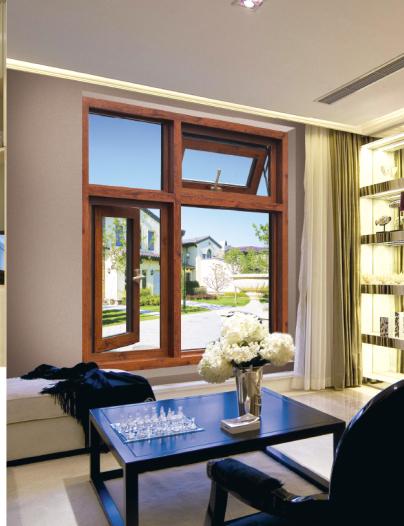 安基供应65断桥窗型材95.120断桥窗 铝合金门窗 重型门