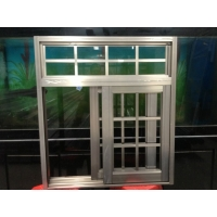 复合防盗窗 推拉窗 金刚网一体窗 断桥窗型材可定制