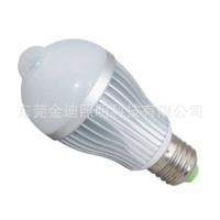 金迪LED球泡灯   人体感应球泡灯   5W