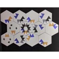 六角砖黑白/六角砖彩色/六角砖爵士白/六角砖花砖