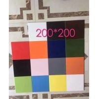 20x20cm彩色仿古砖,纯色釉面砖供应商工厂