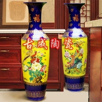 纪念礼品陶瓷定制  古成花瓶  景德镇花瓶价格