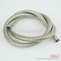 金属软管304不锈钢穿线双扣软管