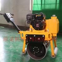 OUY-30手扶压路机 碾压草坪压路机 振动式钢轮压路机