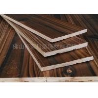 壁纸背景装饰深色碳化面贴面装饰墙纸板材吊顶自带胶木板和普通杉木图片