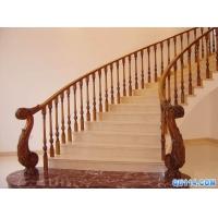 橡胶木实木楼梯