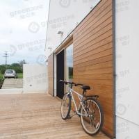 W90  柚木 卡隆生态木 墙面饰板