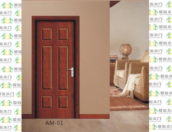 木艺烤漆门AM-01