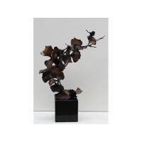 摇曳之一 紫铜艺家居饰品 雕塑抽象艺术摆件工艺品