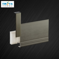 专业生产铝合金踢脚线全铝阴阳角配件报价